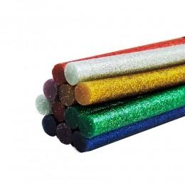 Bastão de Cola Quente com Glitter