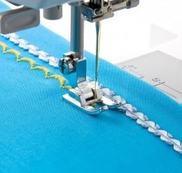 Calcador Doméstico Ponto Cheio Abrir Costura e Aplicação
