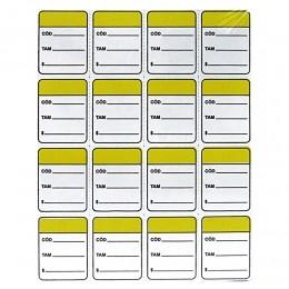Etiqueta Cartão Coloridas para Pino Tag Pin