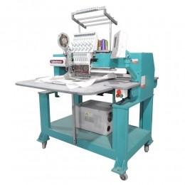 Máquina de Bordar 1 Cabeça 12 agulhas Com Aplicador de Lantejoula  WM-1201-45PS