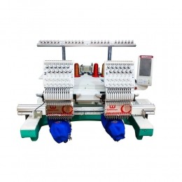 Máquina de Bordar 2 Cabeças 12 agulhas WM-1202