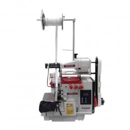 Máquina de Costura Industrial Overloque 1 Ag 3 Fios Direct Drive W-4 3LFC DC/E Com Aparelho de Elástico