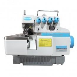 Máquina de Costura Industrial Overloque Ponto Cadeia 2 Ag 4 Fios Direct Drive Bivolt S-848DC/E  Silverstar