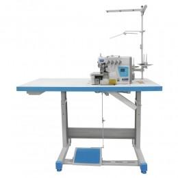 Máquina de Costura Interloque 2 Ag 5 Fios Direct Drive 4 Funções S55-4DC/SU Silverstar