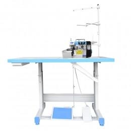 Máquina de Costura Interloque 2 Ag 5 Fios Direct Drive Semi Eletrônica S8-5DC-SU