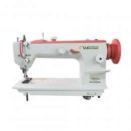 Máquina de Costura Reta Transporte Duplo Pesada com Controle de Duplo de Pressão do Calcador W-350 BL Westman