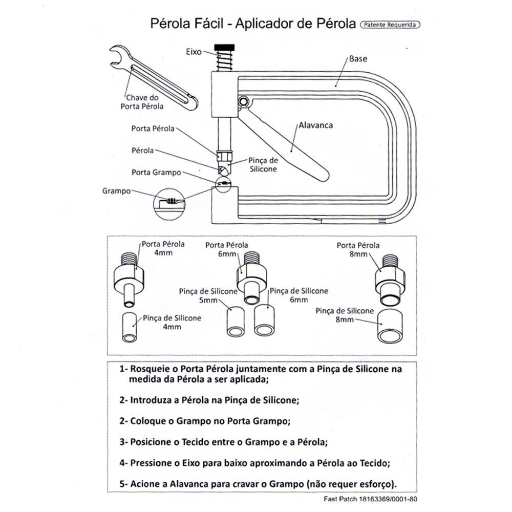 Aplicador de Pérola Fast Patch