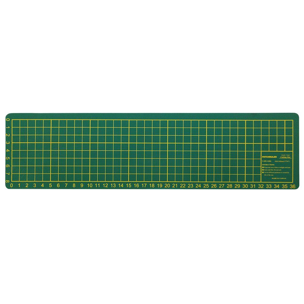 Base para Corte de Tecidos Patchwork e Scrapbook Frente e Verso - 38 x 10 CM