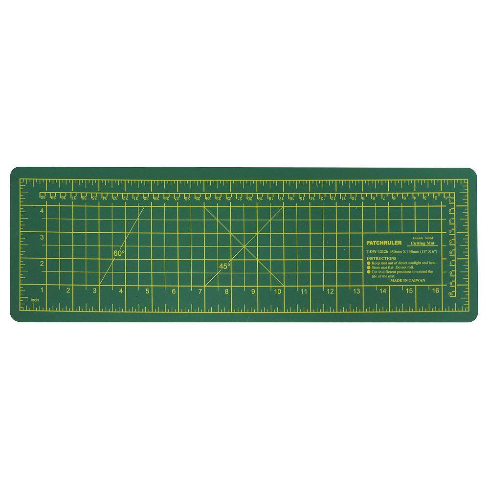 Base para Corte de Tecidos Patchwork e Scrapbook Frente e Verso - 45 x 15 CM