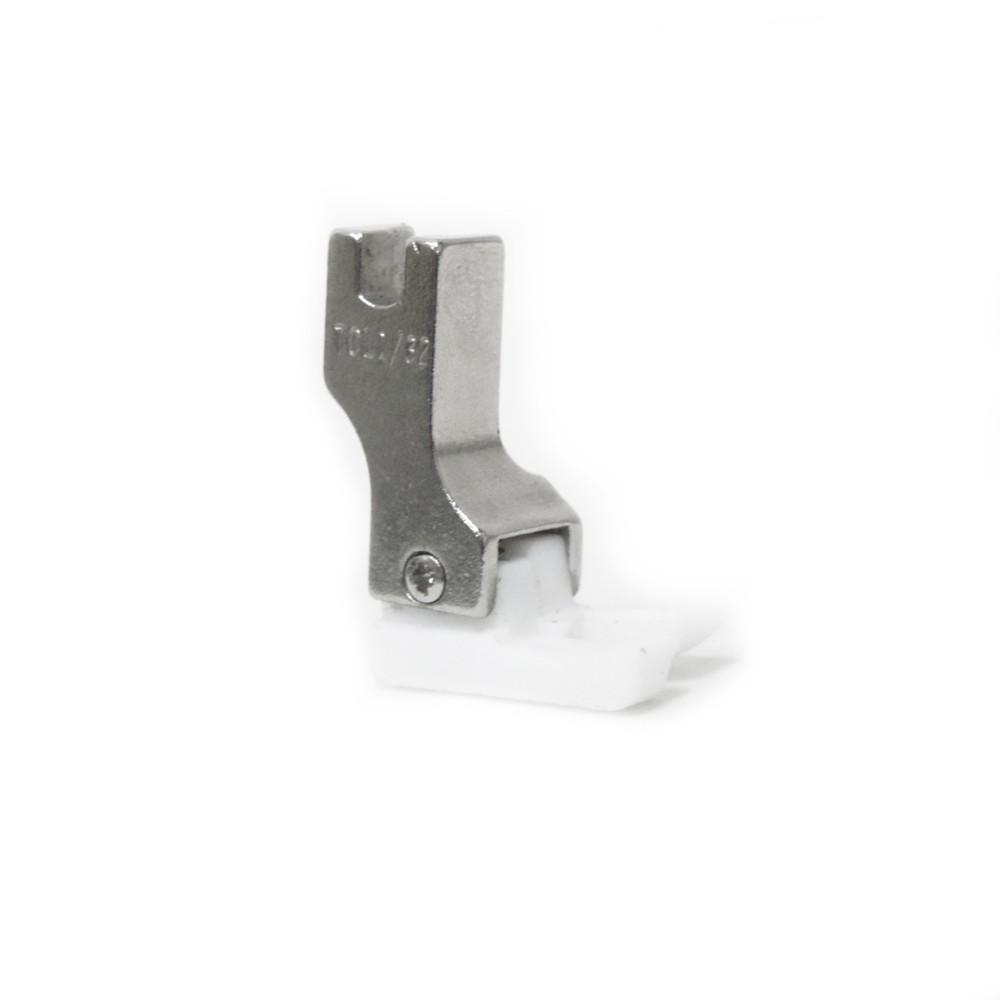Calcador Sapata Teflon de Pesponto Reta Industrial Lado Esquerdo TCL
