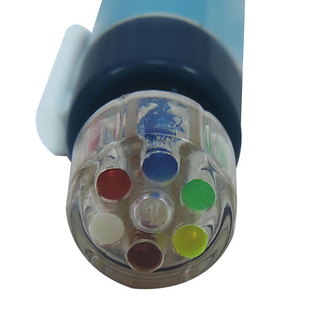 Caneta Giz Multicolor 6 em 1