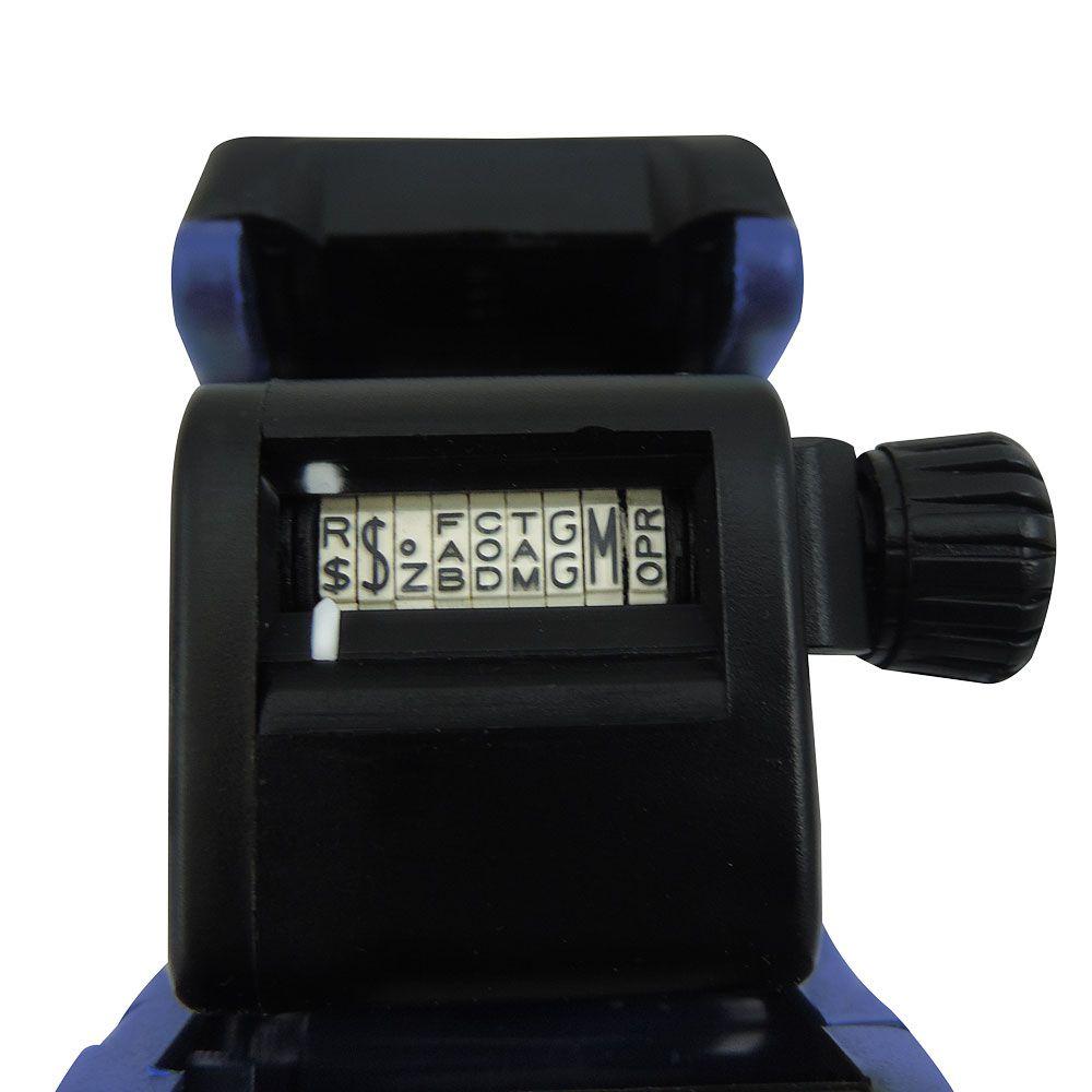Etiquetadora 9 Dígitos 1 Linha - W108 - By Ópen