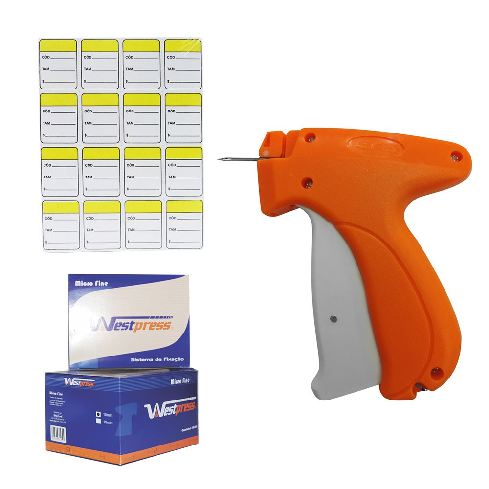 Kit Aplicador Etiquetas + Tag Pin + Etiquetas