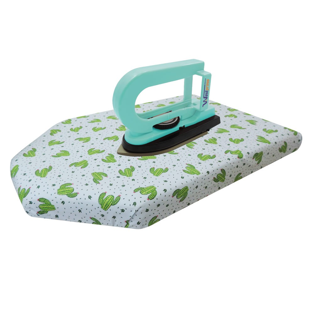 Kit Mini Ferro Westpress Baby com Tábua Patchwork