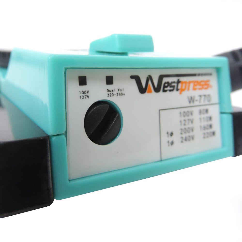 Kit Mini Ferro Westpress Baby com Tábua Porta Cone e Alfinetes