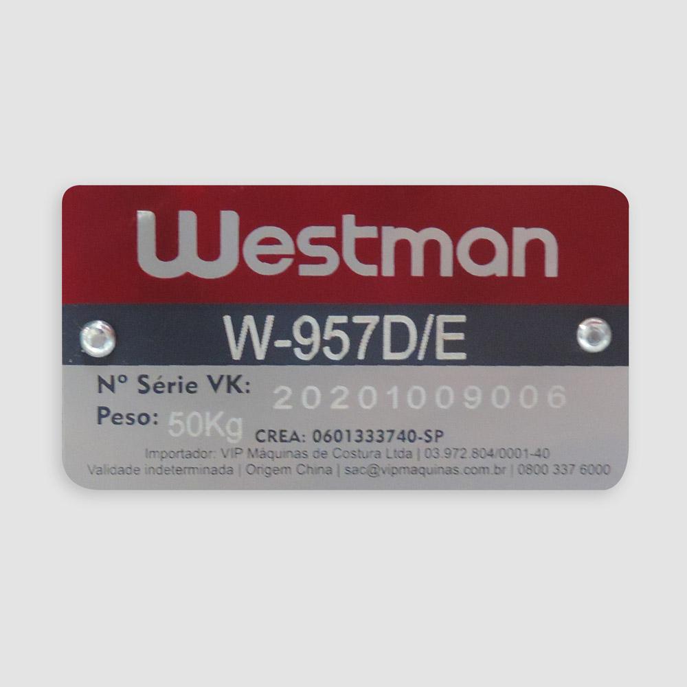 Máquina Coluna Transporte Duplo W-957D/E - Westman