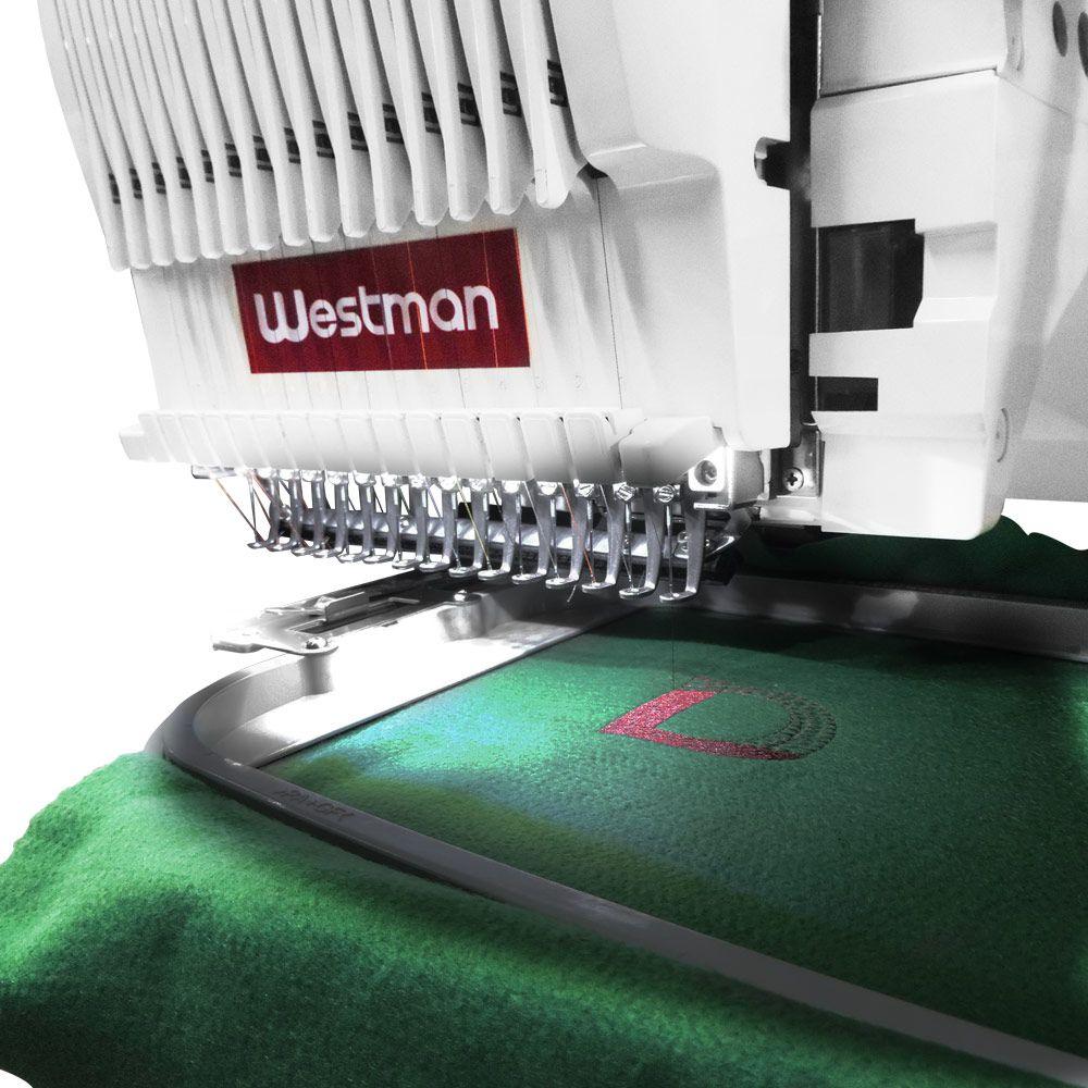 Máquina de Bordar 1 Cabeça 15 agulhas Compacta - Westman