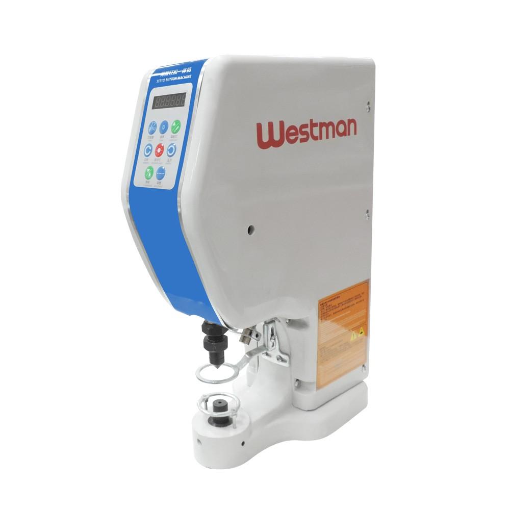 Máquina de Botão de Pressão Elétrica  com Motor Direct Drive Westman W-118