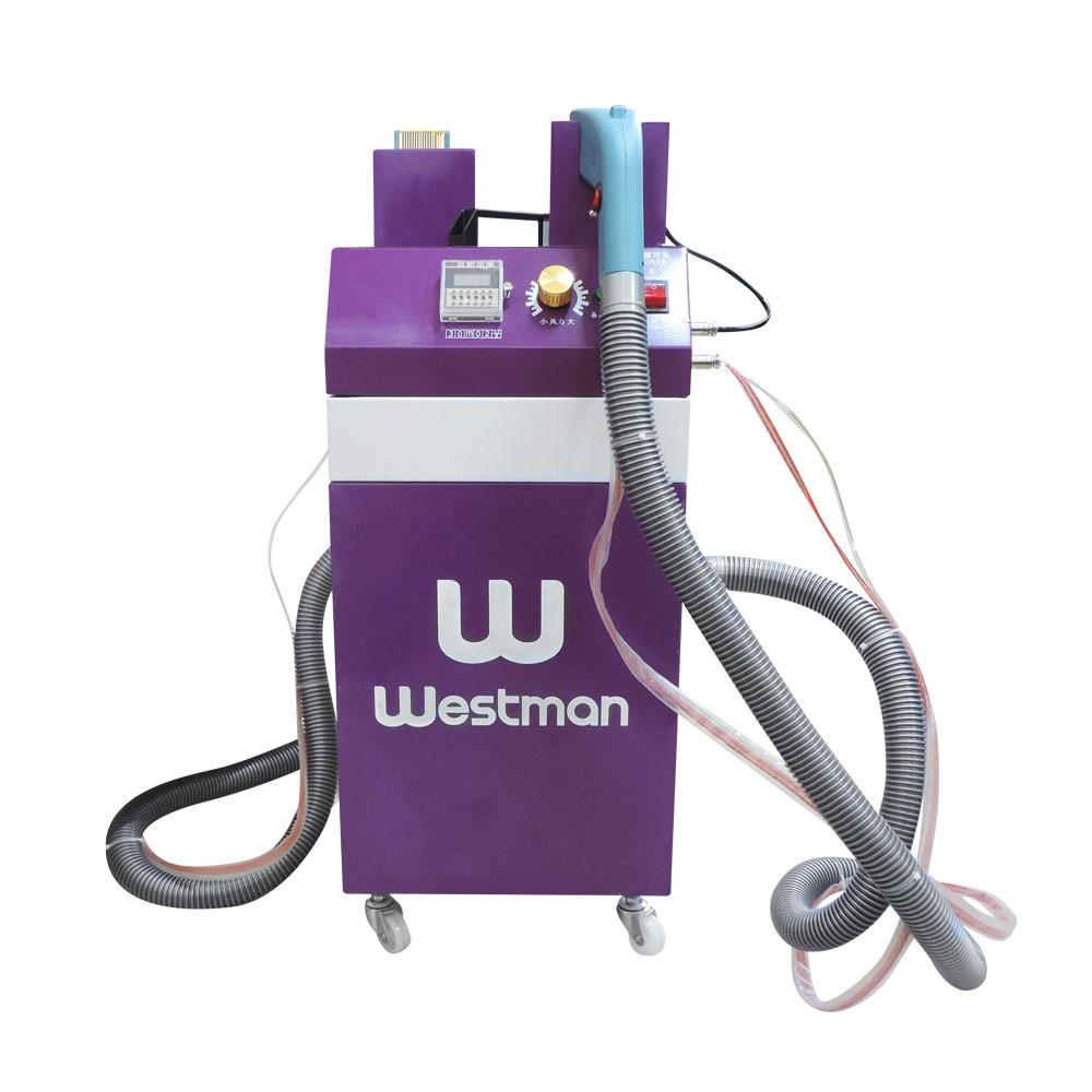 Máquina de Cortar e Arrematar Fios e Linhas 2 Cabeças Westman
