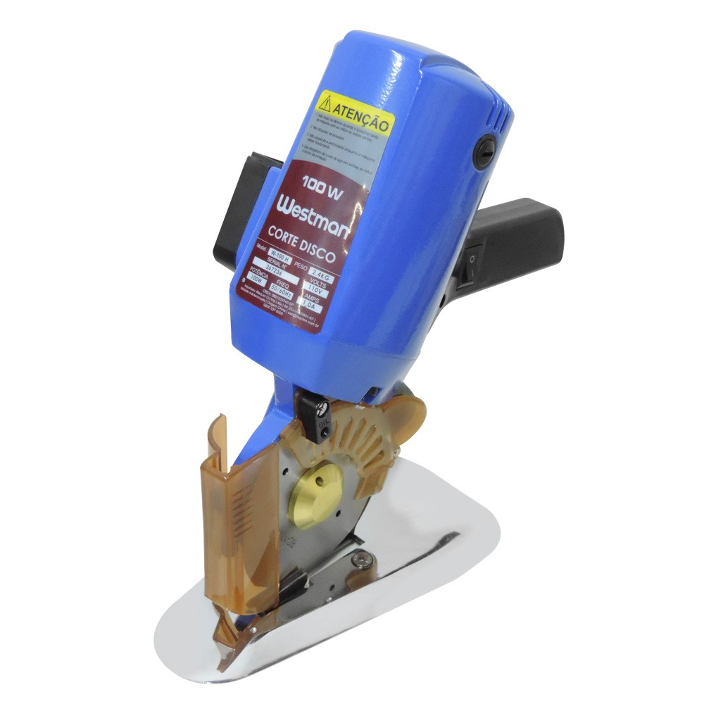 Máquina de Cortar Tecidos de Disco 4 Polegadas 100W