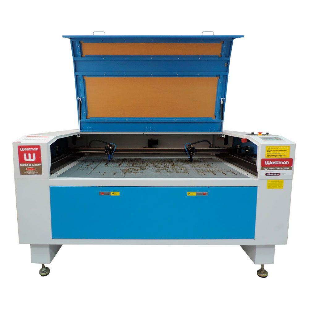 Máquina de Corte e Gravação a Laser 100 x 80