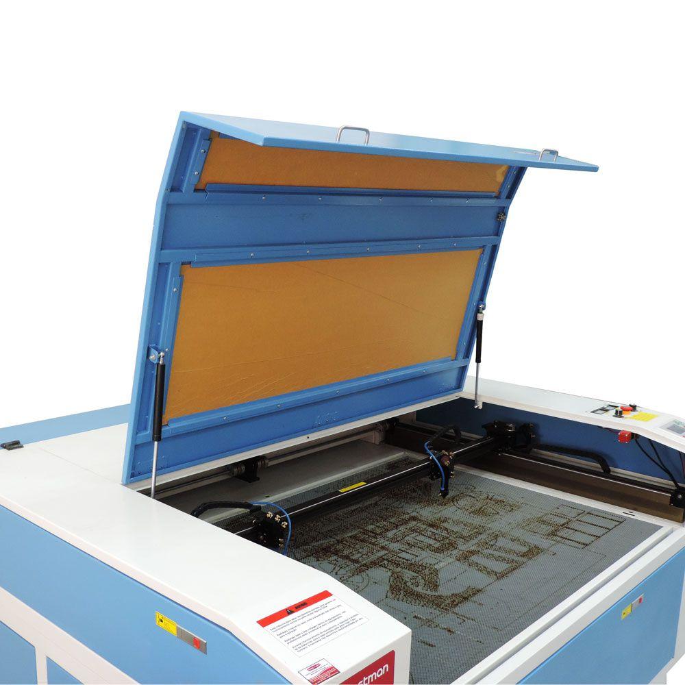 Máquina de Corte e Gravação a Laser 100x80