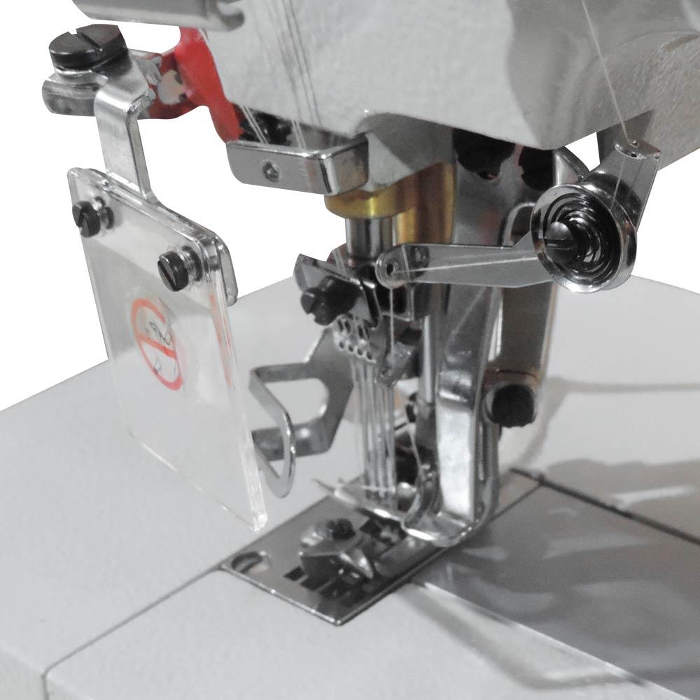 Máquina de Costura Galoneira 4 Agulhas e 6 fios para Fundelo de Cueca Direct Drive W-32560 DC/E Westman