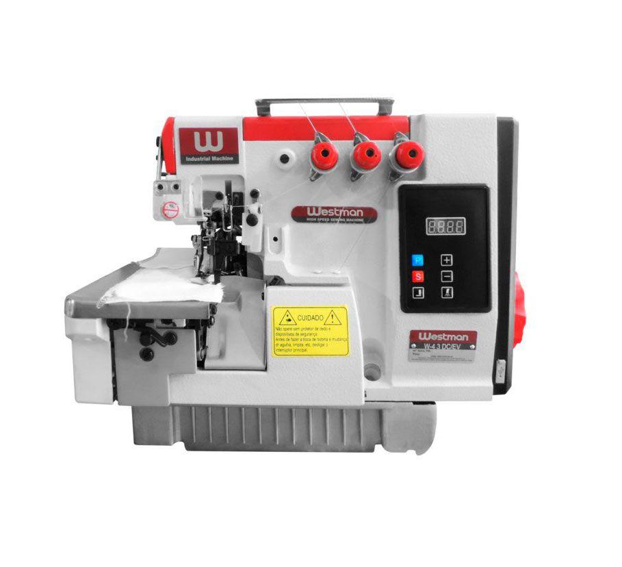 Máquina de Costura Industrial Overloque Direct Drive W-4 3 DC/E