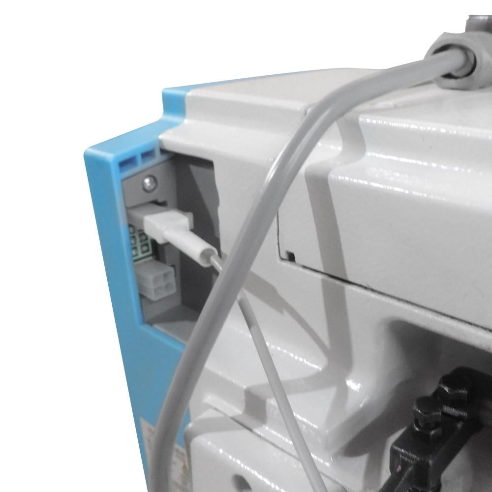 Máquina de Costura Industrial Overloque Ponto Cadeia 2ag 4 fios Direct Drive S8-4DC?E SIlverstar