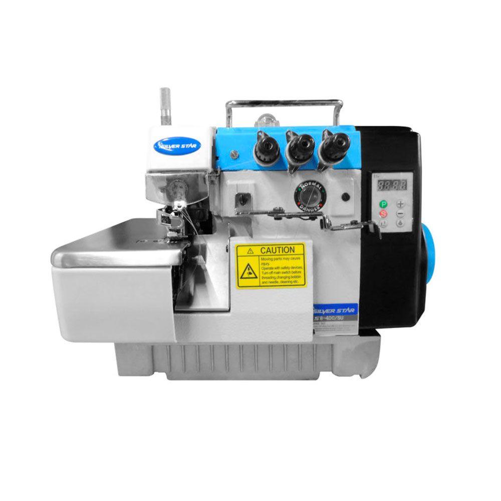 Máquina de Costura Industrial Overloque Ponto Cadeia 2ag 4 fios Direct Drive S8-4DC-SU