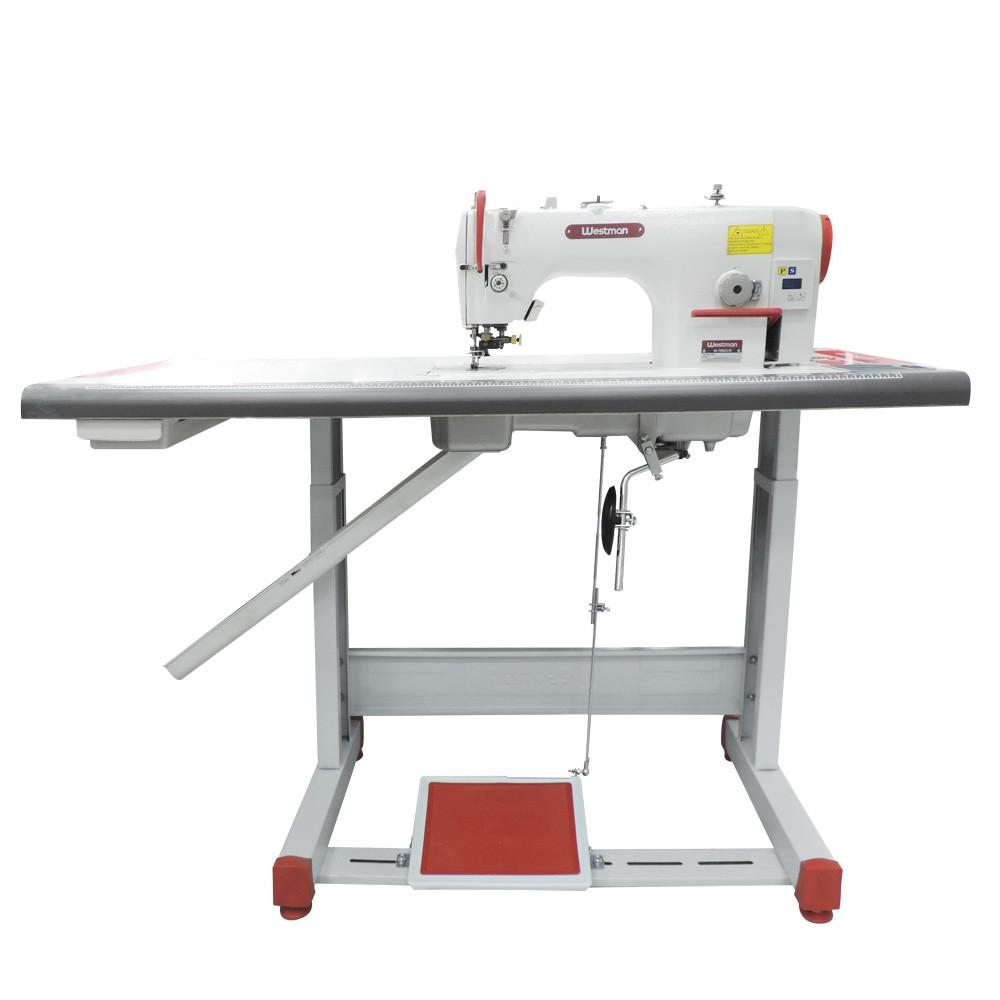 Máquina de Costura Industrial Reta com Refilador Direct Drive W-706 DC/E Westman