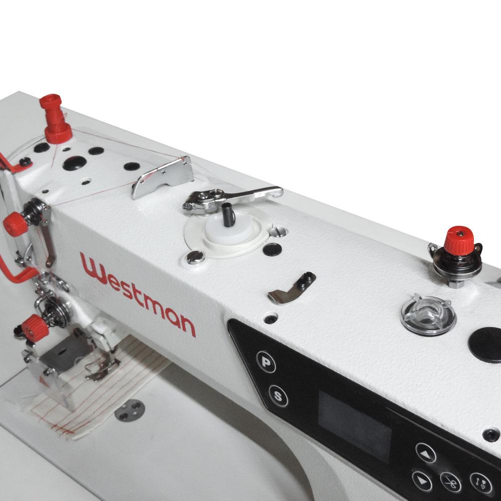 Máquina de Costura Reta com Corte de Linha Direct Drive W-2 DC1/SU Westman