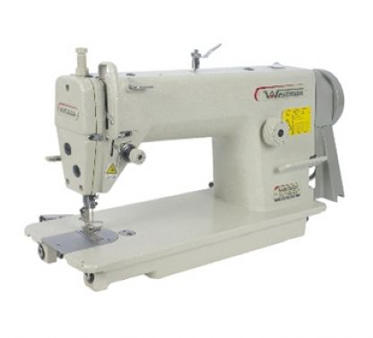 Máquina De Costura Reta Industrial 1ag Lançadeira Grande para Tecidos Pesados