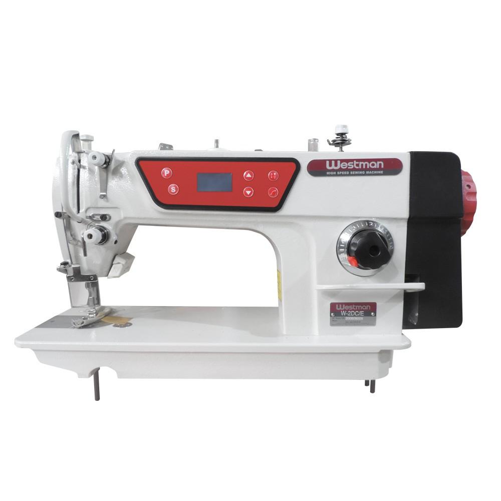 Máquina de Costura Reta Industrial com Posicionador de Agulha Direct Drive W-2 DC/E Westman
