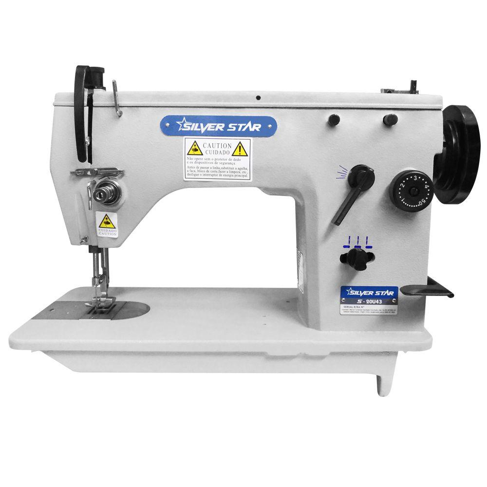 Máquina de Costura Semi-Industrial Zig Zag S-20U43