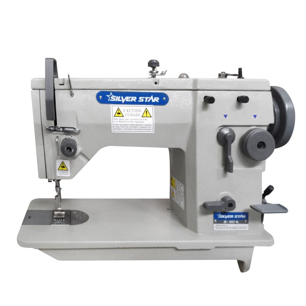 Máquina de Costura Zig Zag Semi Industrial S-457 IL Silverstar