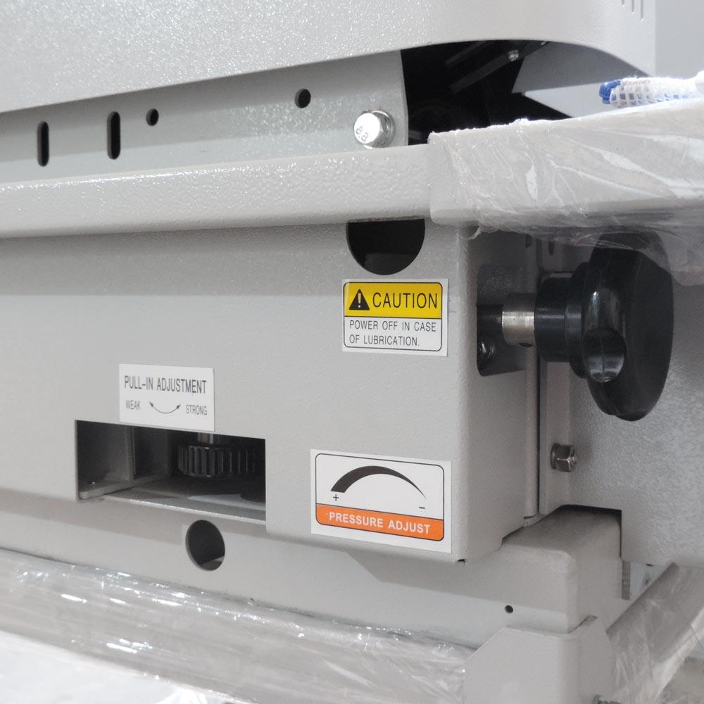 Máquina de Fusionar Entretela W-500 CS com Regulagem de Esteira Fusionadeira Com Aparelho de Máscara