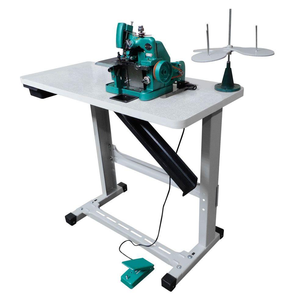 Máquina de Costura Overloque Semi Industrial  Gn-1 com Mesa