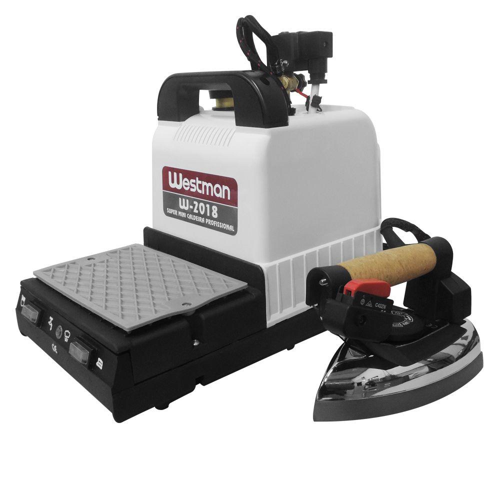Mini Caldeira Semi Industrial 1,8 litros com 1 Ferro DL-6