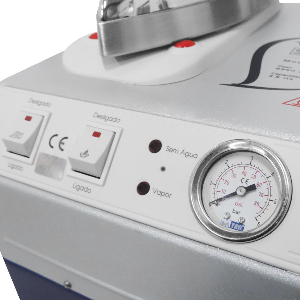 Mini Caldeira Semi Industrial 3,5L