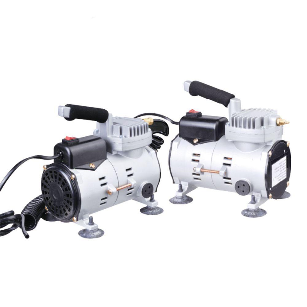 Mini Compressor Com Kit Aerógrafo