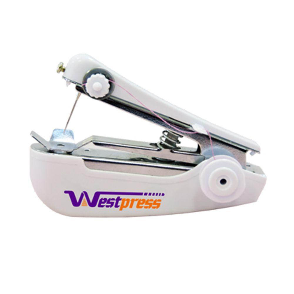 Mini Máquina de Costura Manual Portátil para Pequenos Reparos