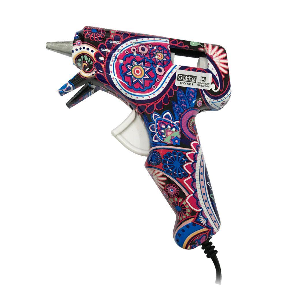 Pistola Cola Quente Estampada 10W