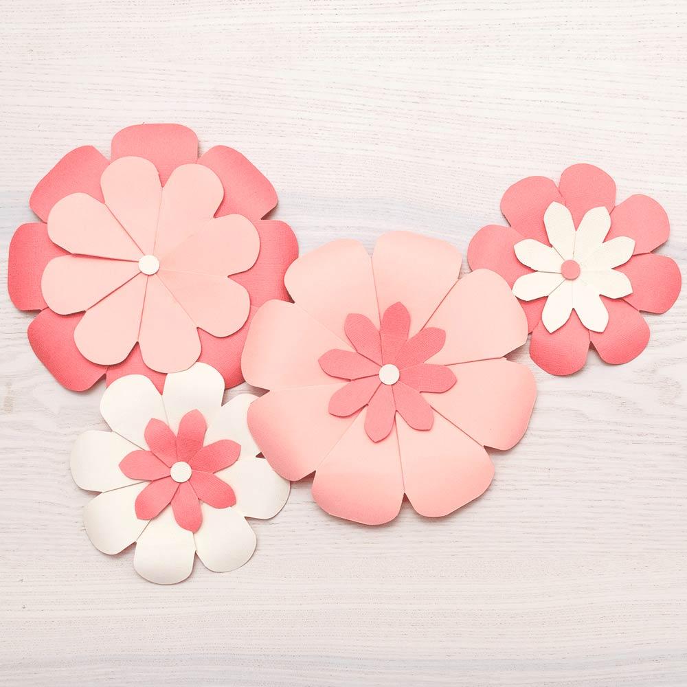 Placa Flower Punch Board com Furador e Vincador para Fazer Flores - We R