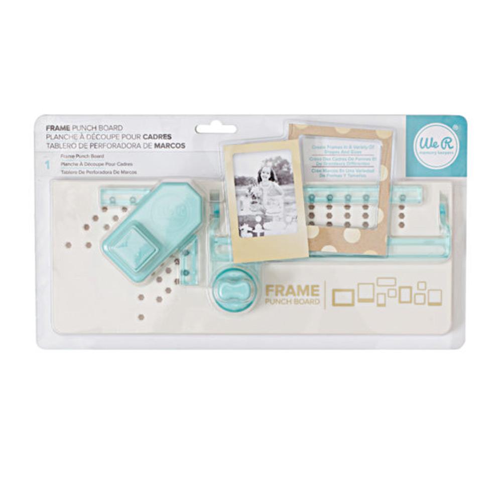 Placa Frame Punch Board com Furador e Vincador para Fazer Molduras - We R