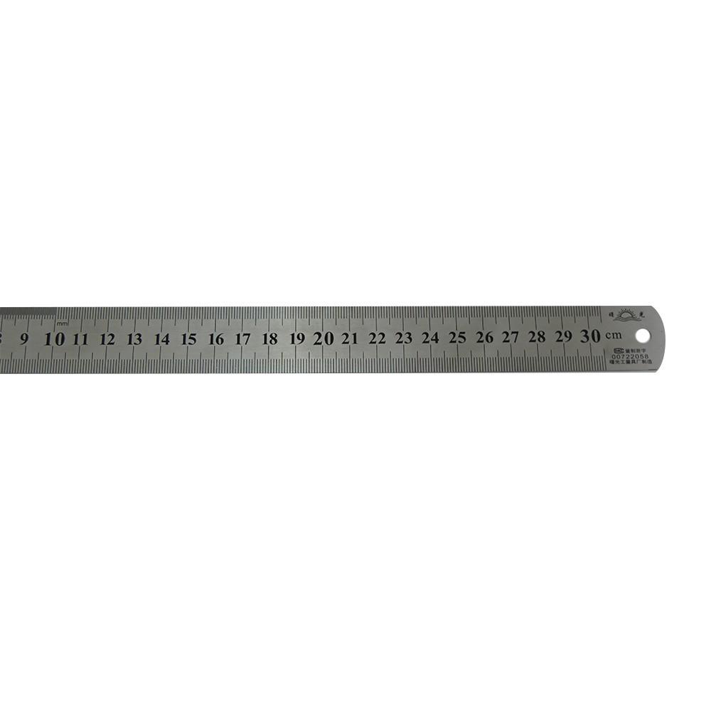 Régua em Aço 30cm