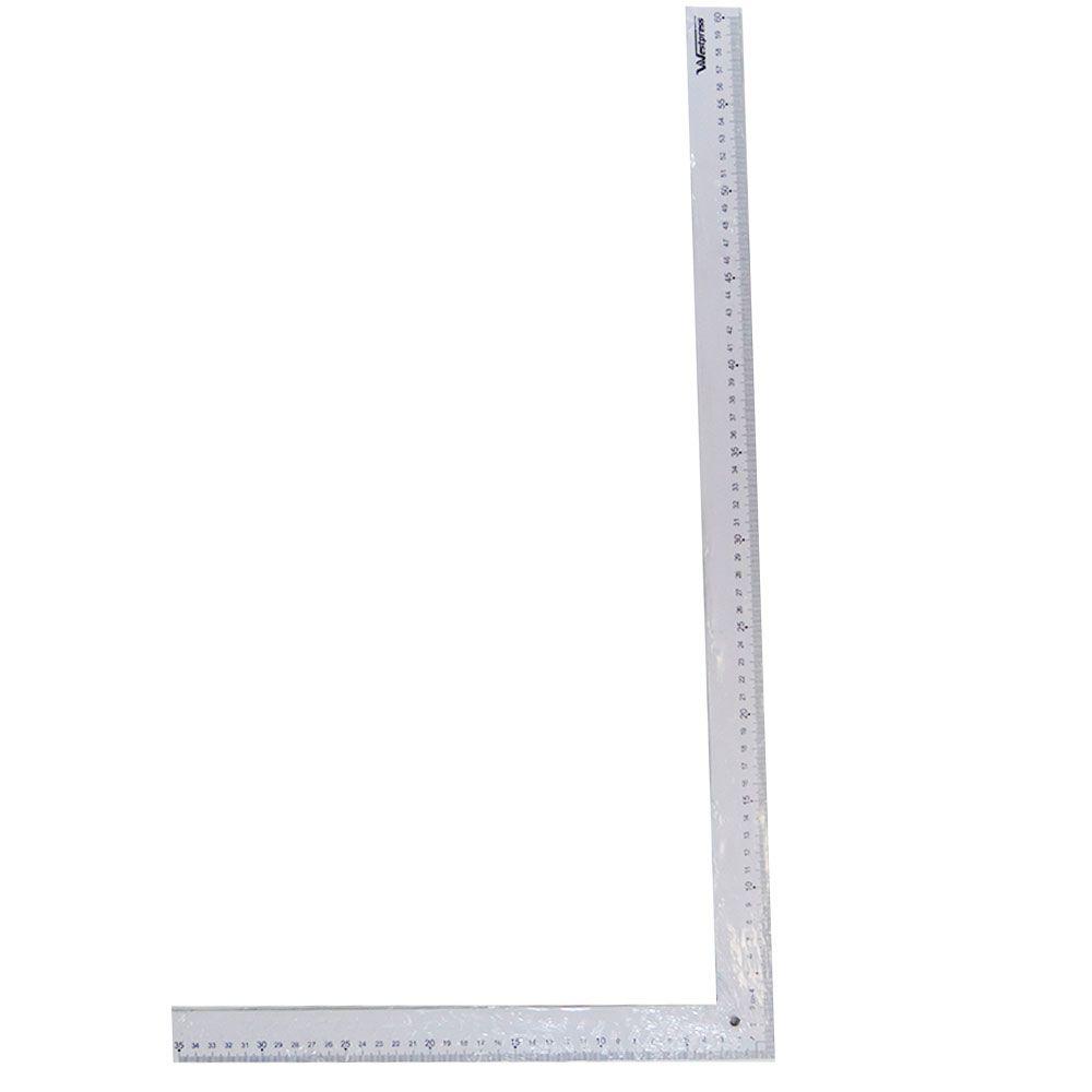Régua em L de Modelagem para Costura e Patchwork 60,7 X 35,6 cm