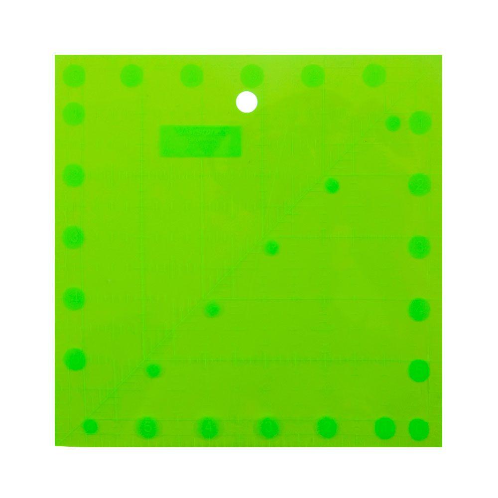 Régua Quadrada Fluorescente para Patchwork