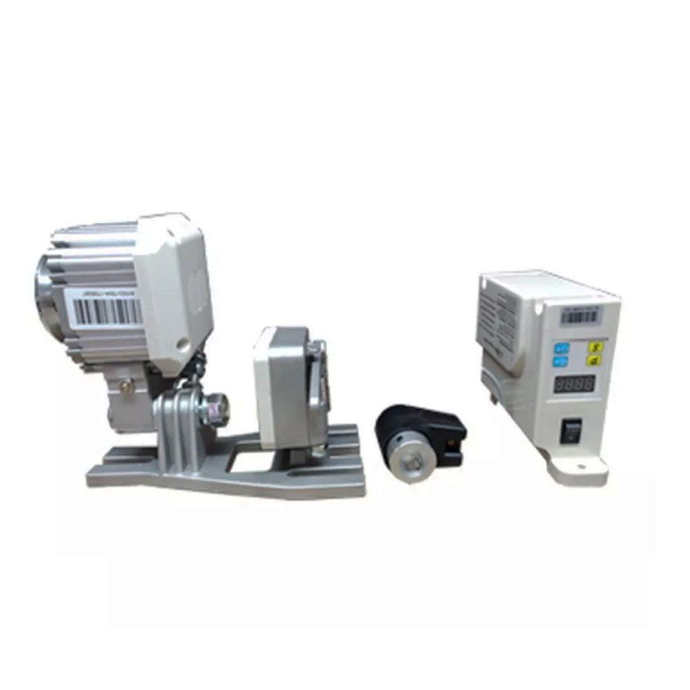 Servo Motor com Posicionador de Agulha para Máquinas de Costura Reta Overloque e Galoneira