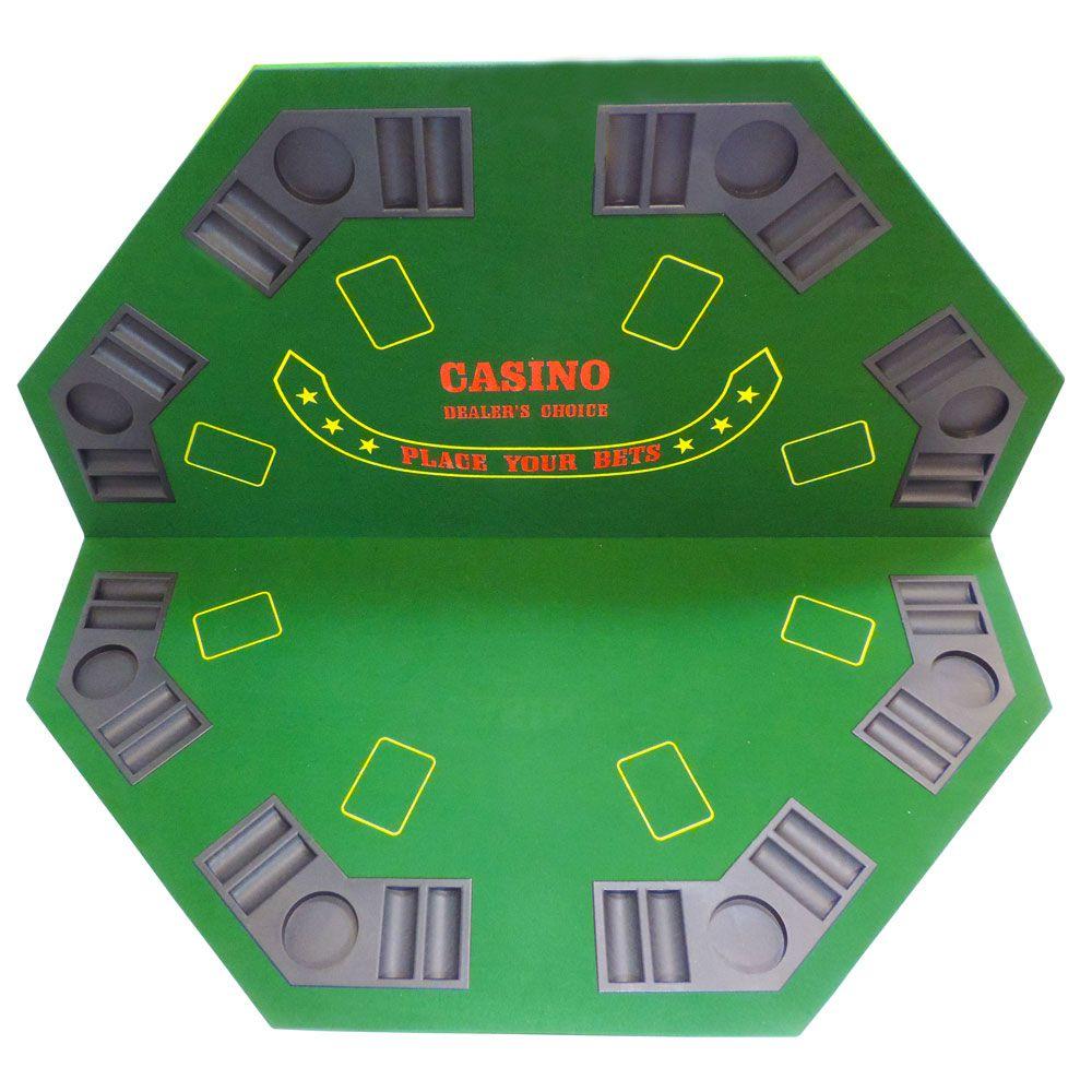 Mesa de Poker Octogonal Tabuleiro de Poker